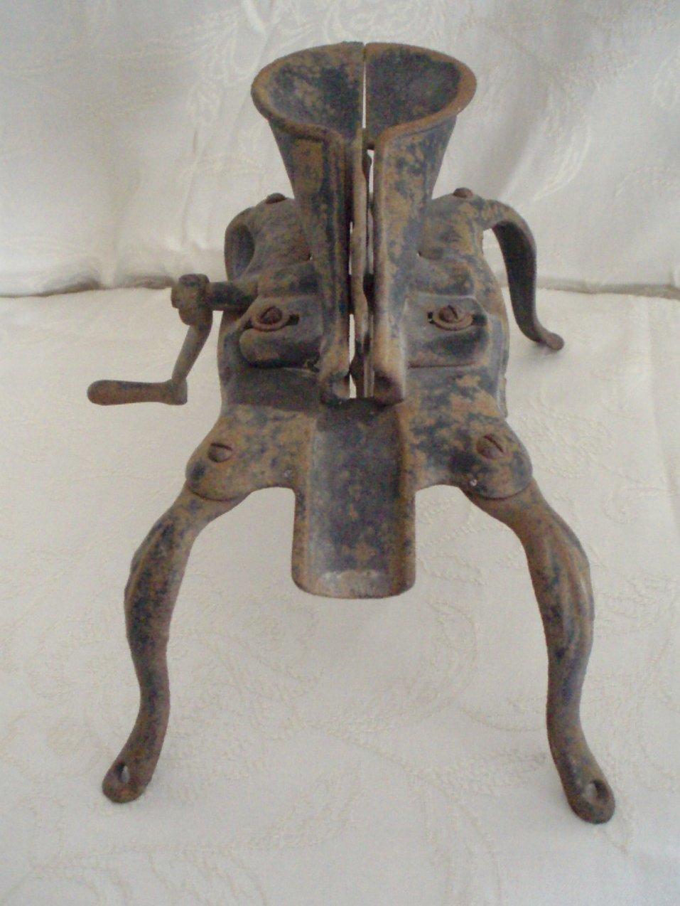 antique cherry pitter stoner manual cast iron circa 1870