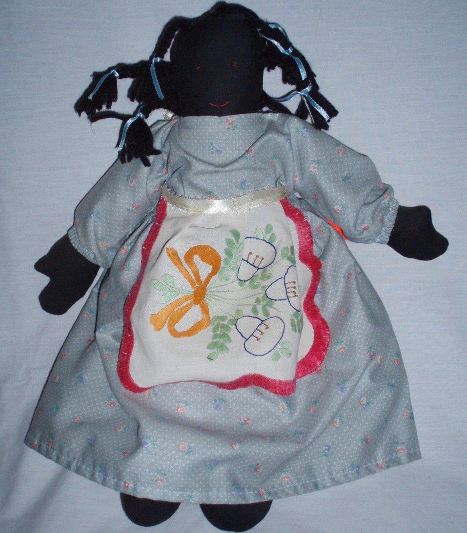 Black Americana  Picaninny vintage doll cloth