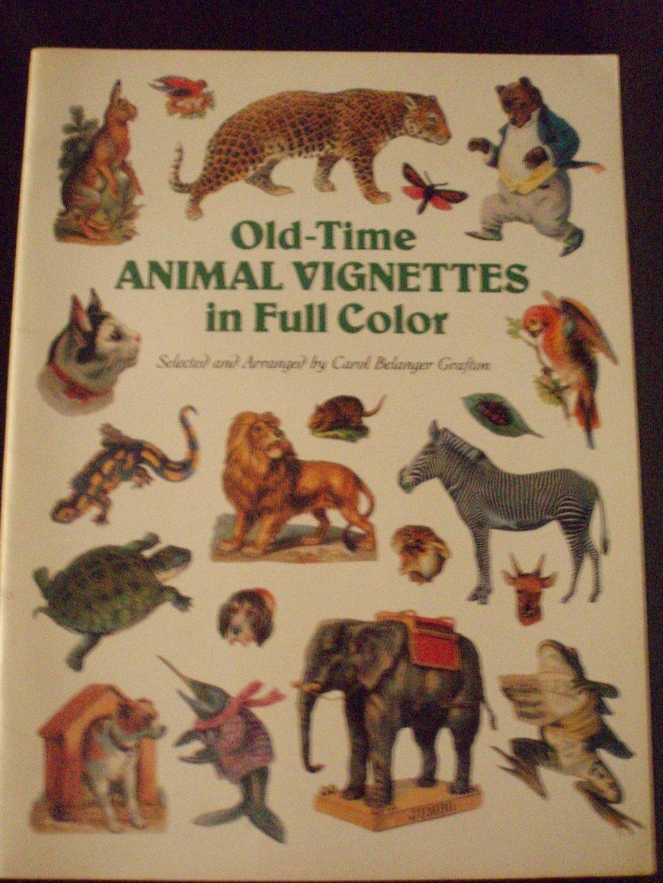 Old-Time Animal Vignettes Carol Belanger Grafton