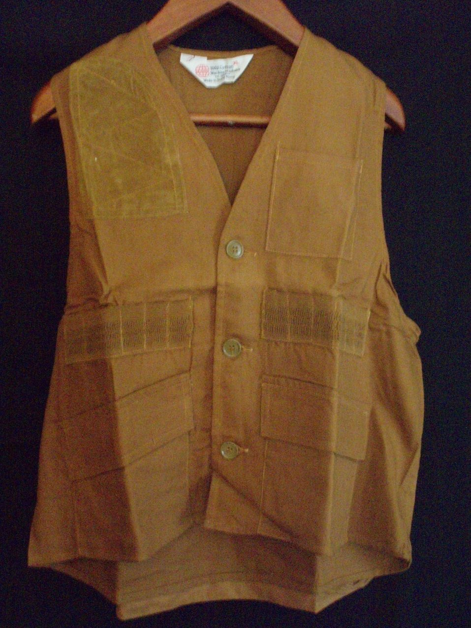 hunting vest NWT game shooters vest bird hunters mens L