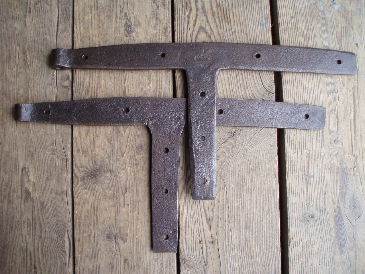 antique iron barn door hinges hand forged hardware