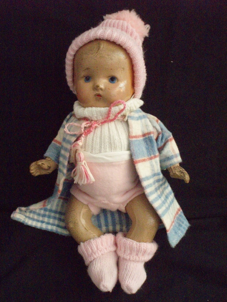 1920 Composition Baby Doll