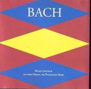 Bach Hans Leitner German Pipe Organ CD Collectible Rare