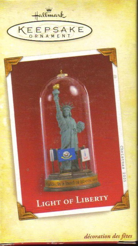 Hallmark Keepsake Light of Liberty Military Ornament