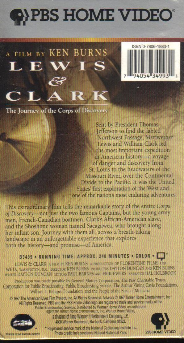 Lewis Amp Clark The Journey Of The Corps Of Discovery Ken