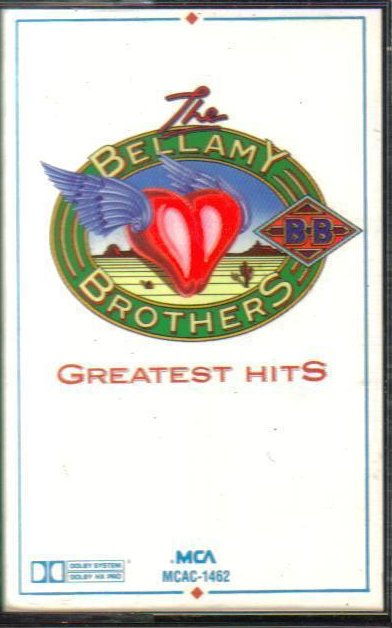 Bellamy Brothers, The Greatest Hits Country Audio Cassette