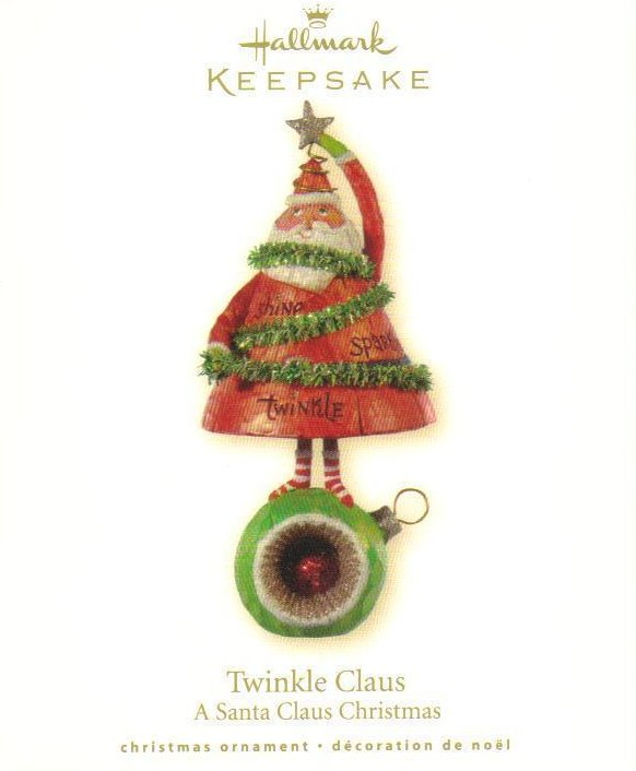 Hallmark Keepsake Ornament A Santa Claus Christmas Twinkle