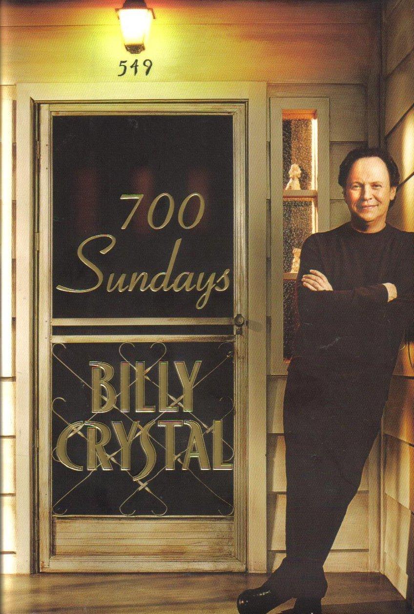 700 Sundays Billy Crystal Hardcover Autobiography