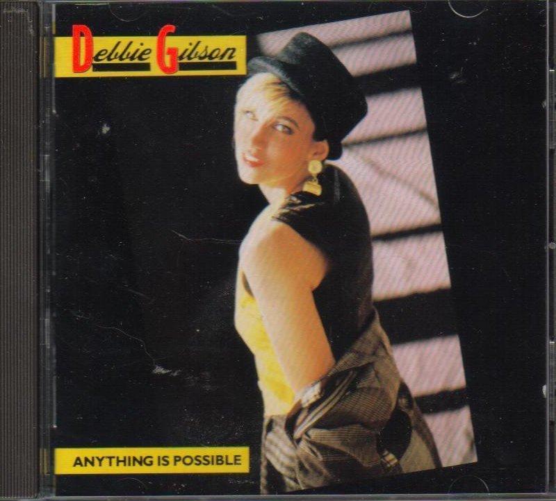 Anything Is Possible Debbbie Gibson Pop CD OOP