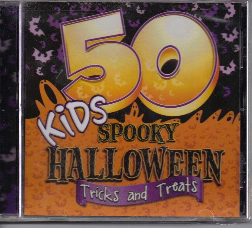 Image 0 of 50 Kids Spooky Halloween Tricks and Treats CD