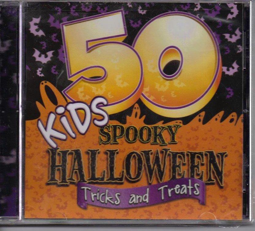 Image 0 of 50 Kids Spooky Halloween Tricks and Treats CD OOS