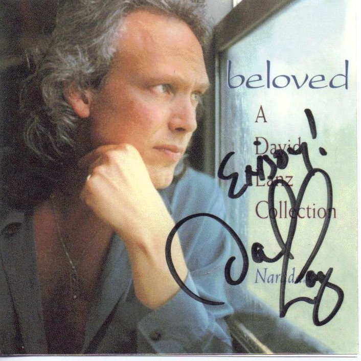 Beloved A David Lanz Collection Signed Collectible CD Narada New Age
