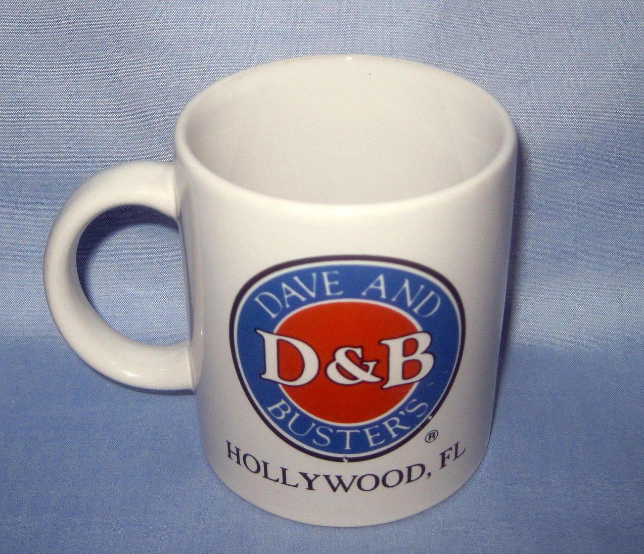 '.Dave & Busters Hollywood Mug  .'