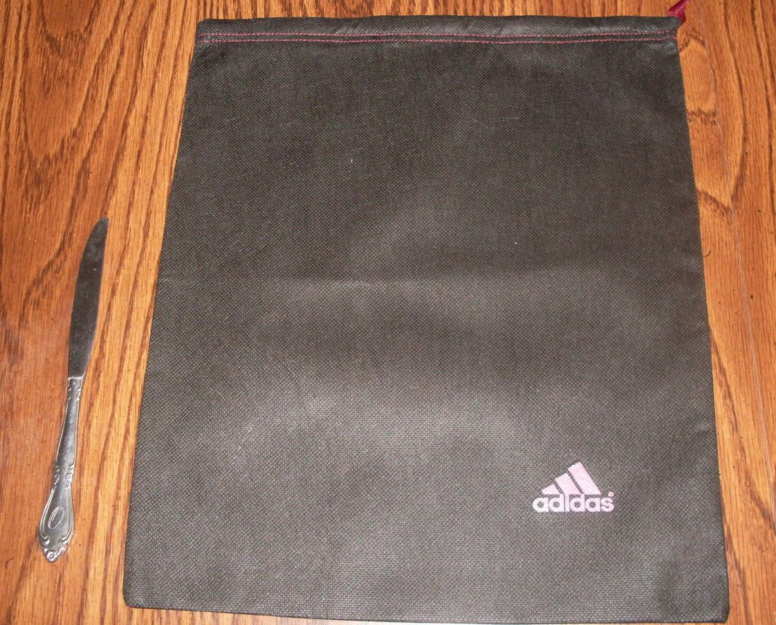 Adidas Drawstring Storage Bags For Shoes Gear Clothes Set Of 3