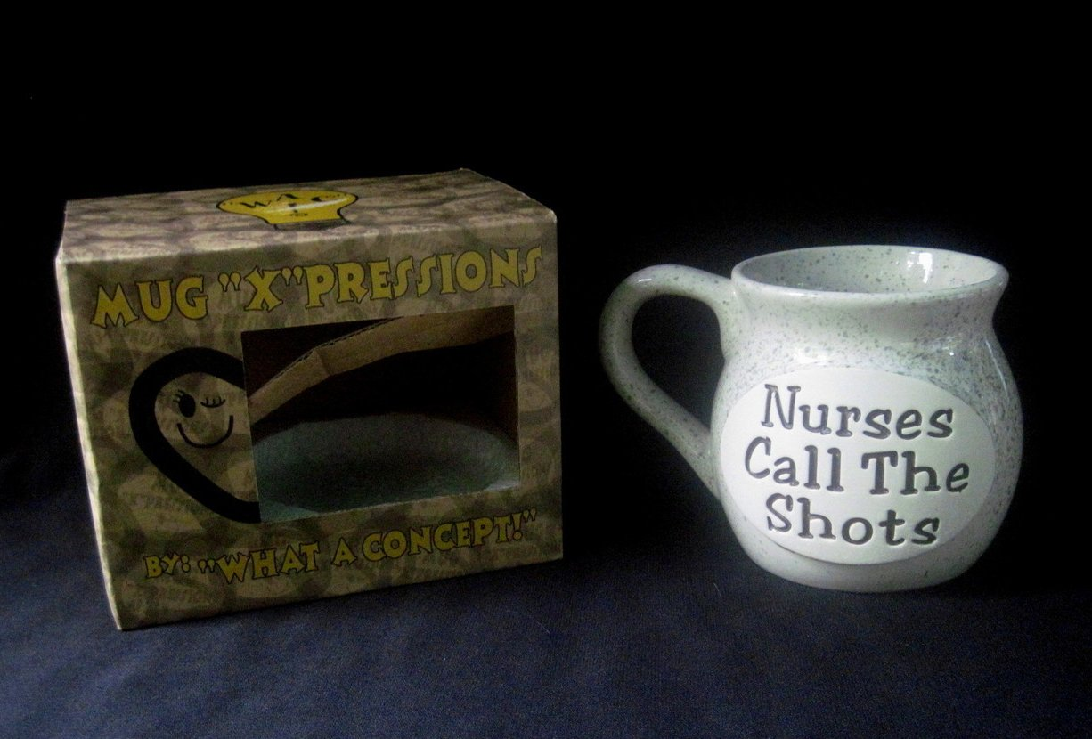 '.Coffee Nurses Call the Shots.'
