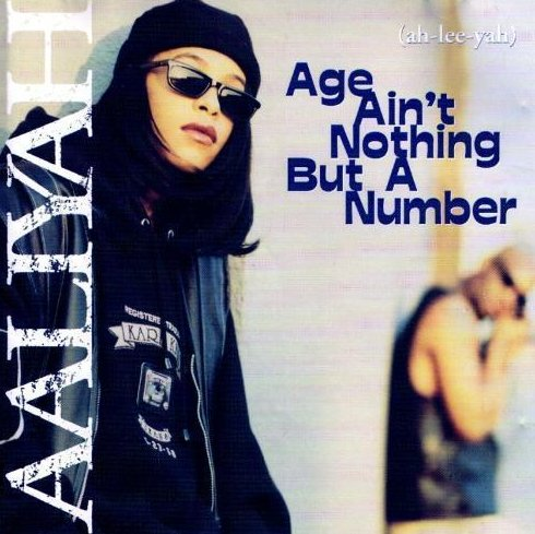 Age Ain't Nothing But a Number by Aaliyah CD 1994 Jive