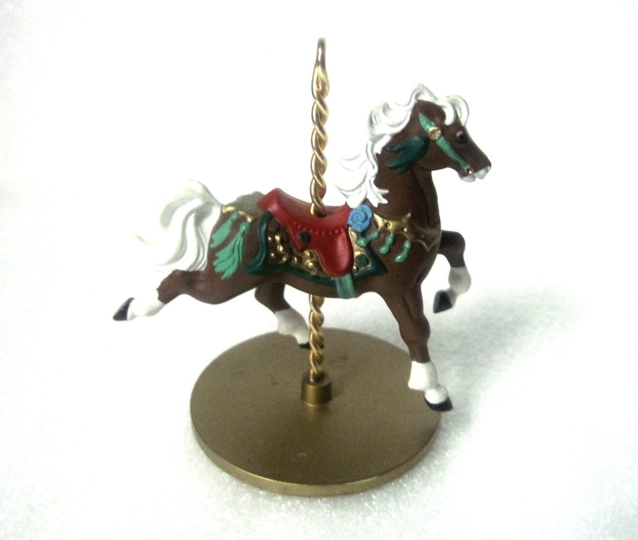 Star Christmas Carousel Horse Series 1989 Hallmark Ornament