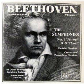 Beethoven The Complete Symphonies Vol II DC Box Set