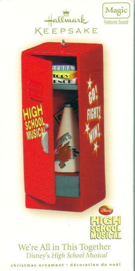 Hallmark Keepsake Ornament Disneys High School Musical