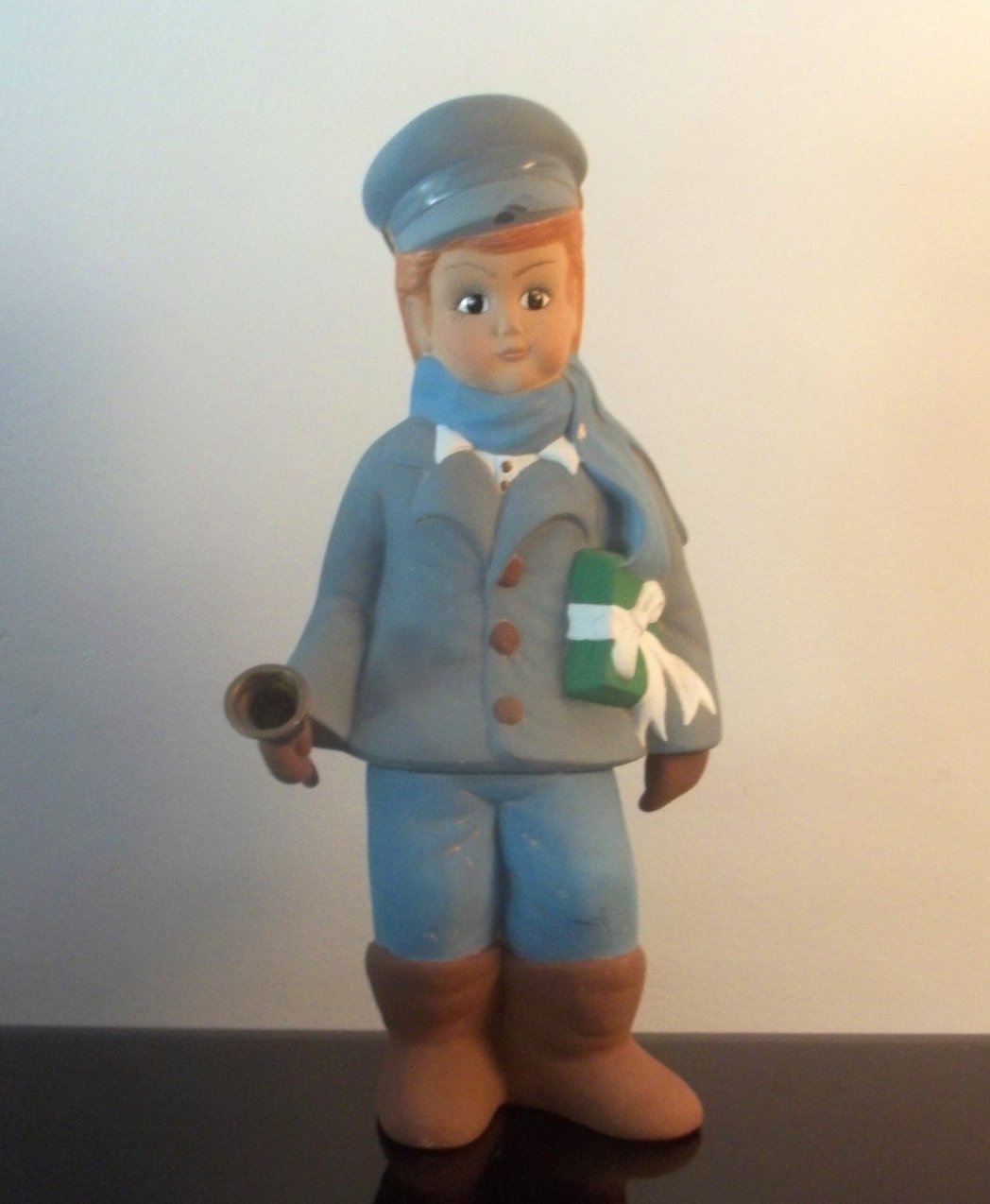 Vintage Christmas Caroler Chris 13 inches Sugarplum Collection