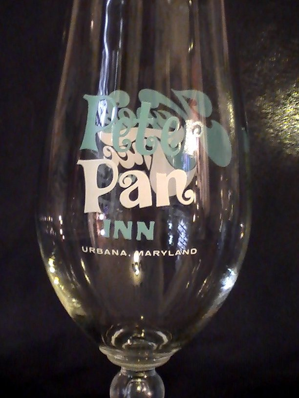 Image 2 of Kapok Tree Inn Peter Pan Inn Hurricane Glass 22 oz Ultra Rare