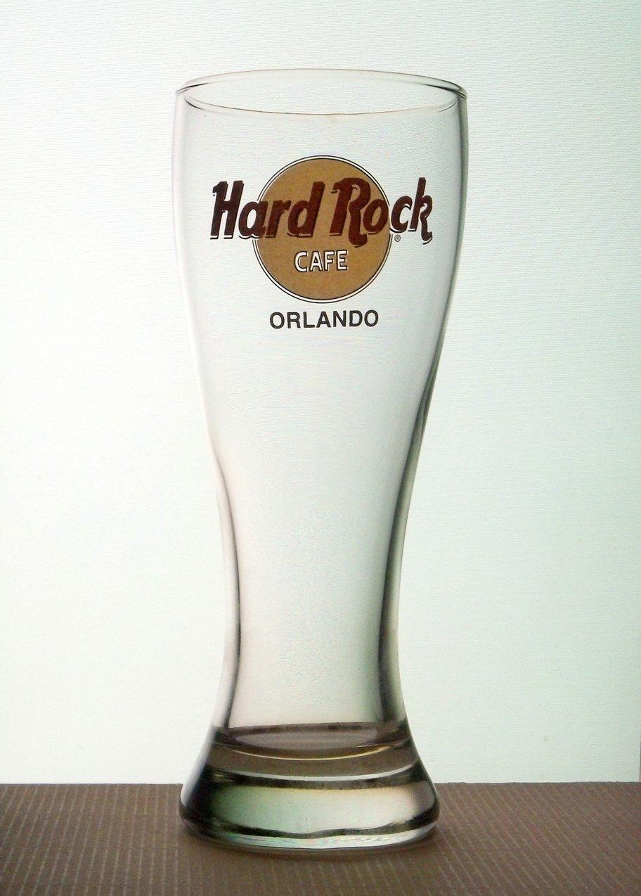 Hard Rock Cafe Beer Pilsner Glass