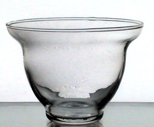 Hanging Candle Holder Cup Flat Bottom 4 X 3 Flared Lip