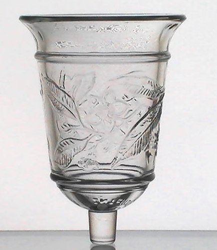 home interiors peg votive holder cup magnolia bell oos
