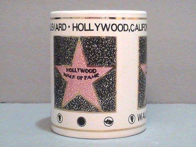 '.Hollywood Walk of Fame Mug.'