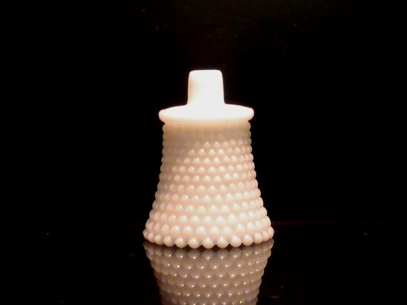 Home interiors peg votive candle holder hobnail white milk for Votive candles definition