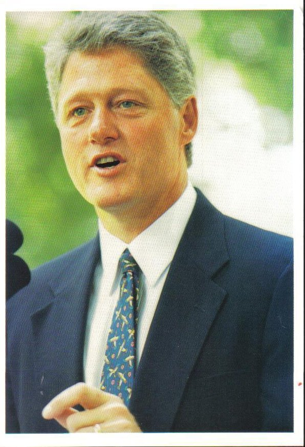 a view of william jefferson clinton Born william jefferson blythe iii, bill clinton's father died in a car accident shortly before he was born he later took the name of his stepfather, roger clinton presidency and accomplishments.