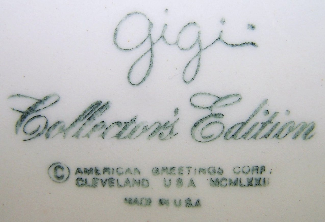 Image 3 of American Greetings Collector Plate Gigi Friends Are Like Flowers