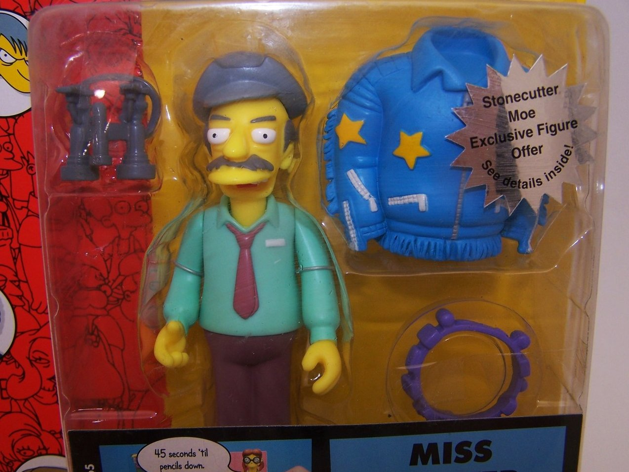 Image 2 of Simpsons Sarcastic Man wos Mislabeled Sealed Card