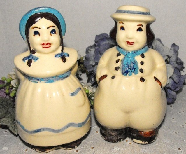 Shawnee Salt and Pepper Shakers Dutch Jack and Jill Large Range Size
