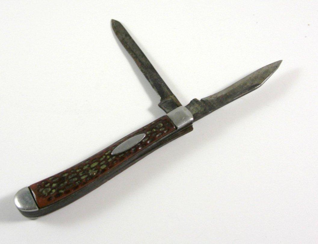 Sabre 614 Double Blade Pocket Knife #614 Japan