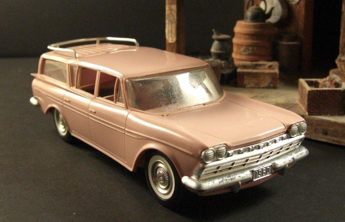 1960 Rambler Station Wagon Dealer Promotional Model Car