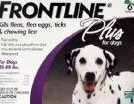 Frontline Plus Flea and Tick Control for 45- to 88-Pound Do by Merial