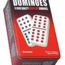 Pressman Double 12 Color Dot Dominos In A Tin by Pressman Toy