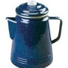14-Cup Enamelware Coffee Percolator by Coleman