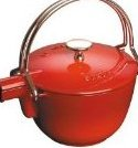 1 Quart Teapot Cherry by Staub