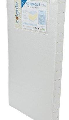 Classica I Foam Crib Mattress White by Colgate