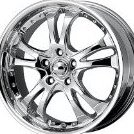 Casino Ar683 Chrome Wheel 18x8quot;/5x4.5quot; by American Racing