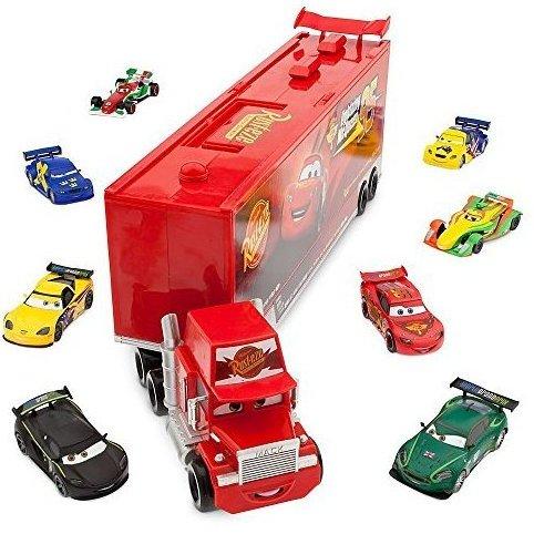 / Pixar CARS Movie 10-Piece Playset Exclusive 1:48 Mack Die by Disney