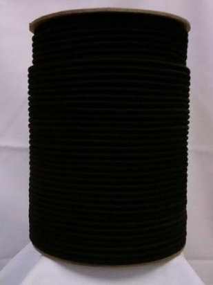 Image 0 of 1/4quot; x 500 FT. Shock Cord - BLK by APCC