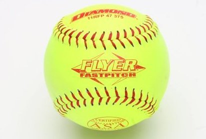 Image 0 of 11rfp 47 375 Leather Cover Fastpitch Softball Doze by Diamond Sports