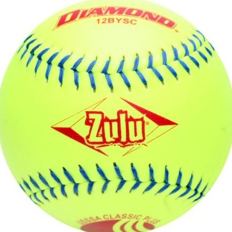 Image 0 of 12bysc Classic Plus Usssa Optic Slowpitch Softball by Diamond Sports