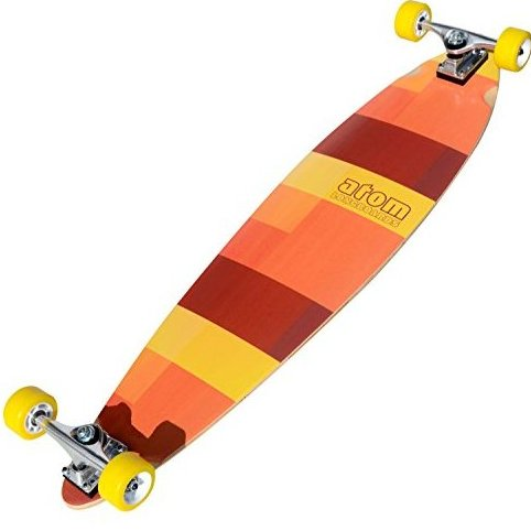 Image 0 of Atom Pin-Tail Longboard 39-Inch by ATOM