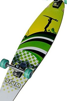 Image 0 of Atom Kicktail Longboard by Atom Longboards