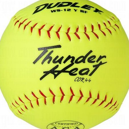 Image 0 of ASA Thunder Heat 12quot; .44 Slow Pitch Softball - Synthetic by Dudley
