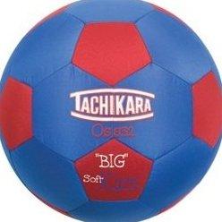 Image 0 of Big Soft Kick Soccer Ball by Tachikara